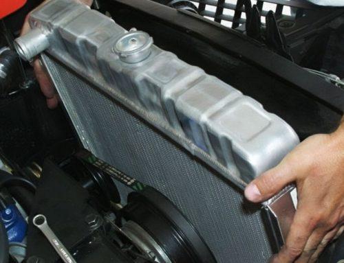 При замене радиатора охлаждения, антифриз в подарок